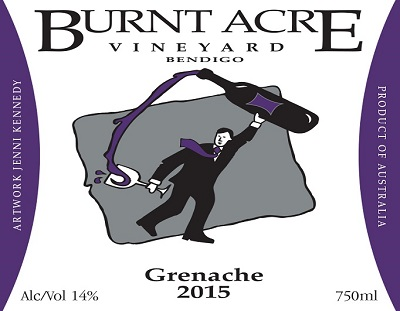 Burnt Acre Vineyard 2015 Grenache