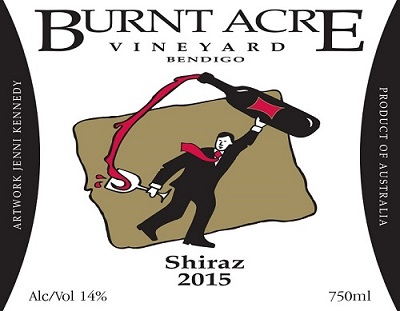 Burnt Acre Vineyard Shiraz 2015