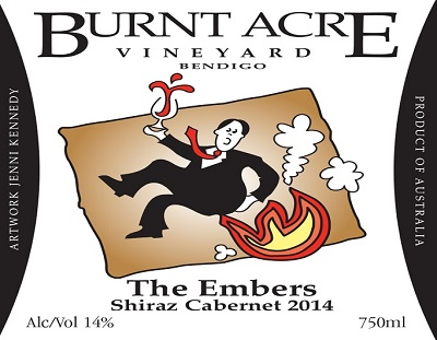 Burnt Acre 2014 'The Embers' Shiraz/Cab